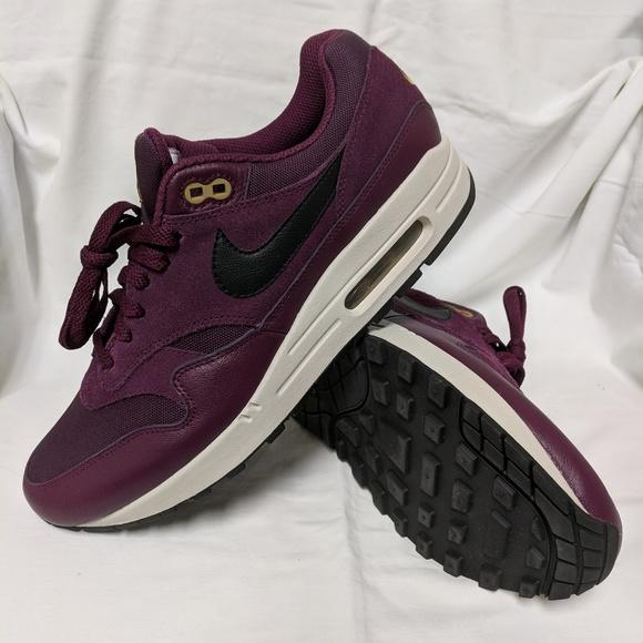 bcd6dc8481 Nike Shoes | Air Max 1 Premium Bordeaux Desert Moss | Poshmark